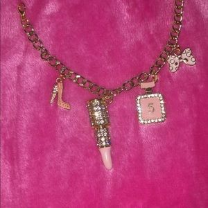 Chain link charm bracelets